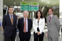 El cónsul de Alemania en Valencia visita Fimma-Maderalia