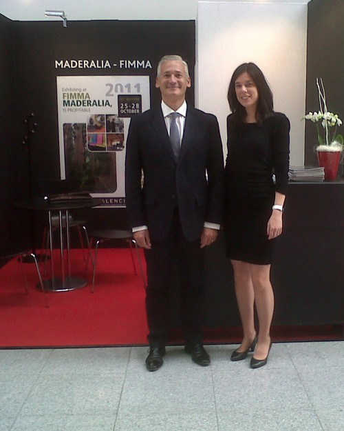 FIMMA-MADERALIA SE PROMOCIONA EN INTERZUM 2011