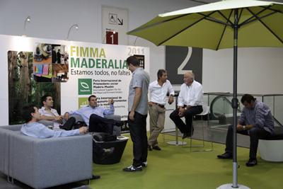 FIMMA-MADERALIA SE PROMOCIONA EN FERIA HÁBITAT VALENCIA