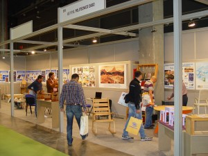 stand IEFPS en FIMMA-MADERALIA 2011
