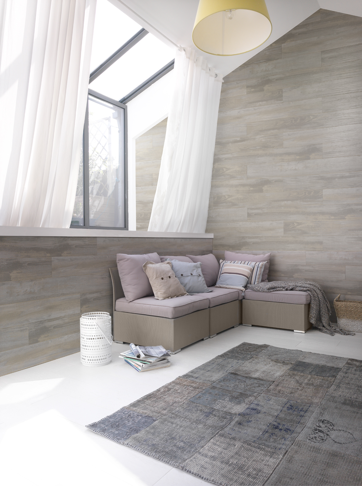 New wall covering grossfillex naturally so that mingles with wood fimma maderalia technology - Revestimiento madera paredes ...