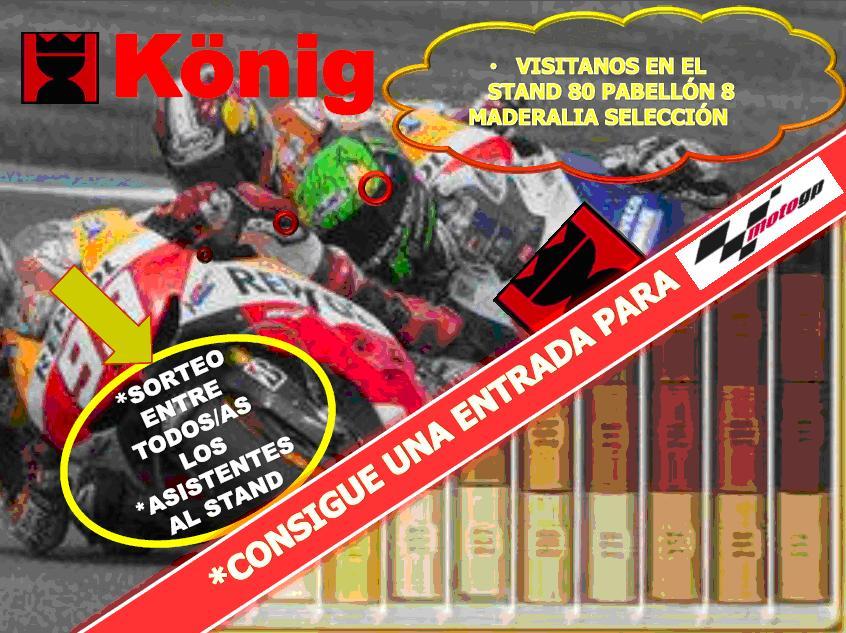 Heinrich König Ibérica sorteará una entrada para la carrera de MotoGP de Valencia