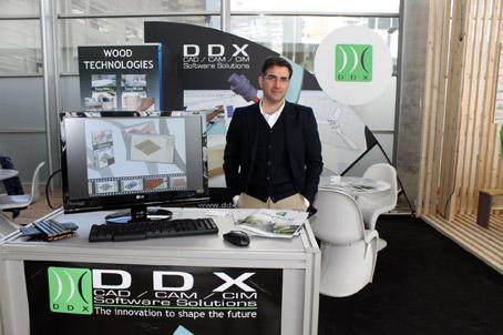 DDX Ibérica presentó el software EasyWOOD en Maderalia Selección
