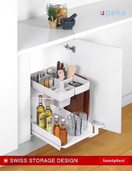 Kitchen Tower la nueva solución práctica de Peka disponible en Lamiplast