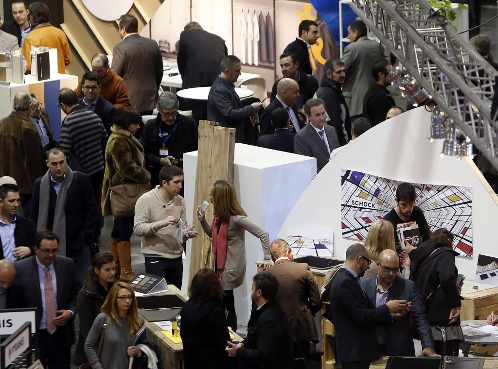 Maderalia Selección, materiales y soluciones para la industria y la decoración. #Maderalia2015 (Photo: Alberto Sáiz)