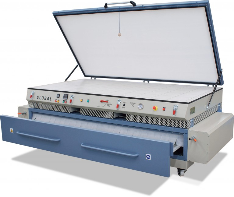 Nueva máquina termoformado Global Duo Standard de Global Vacuum Presses en FIMMA