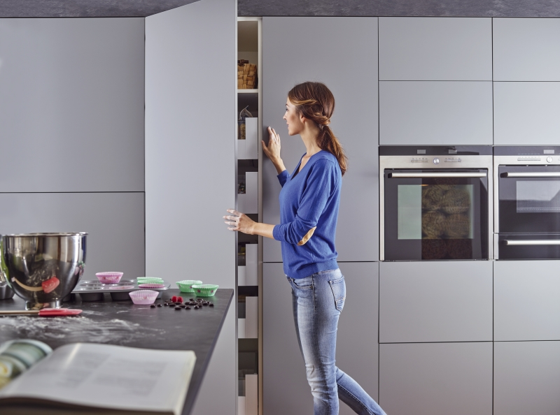Kitchen featuring PerfectSense Matt in application, U732 PM / ST2