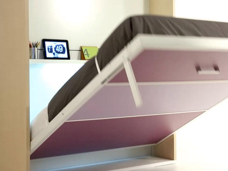 Nuevo sistema de patas escamoteables y sincronizadas para - Mecanismo para camas abatibles ...