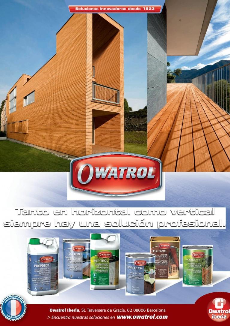 Soluciones profesionales Owatrol en Maderalia