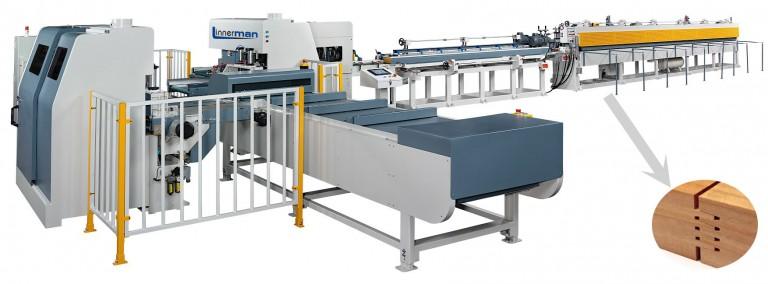 """Nuevas líneas de FingerJoint Linnerman: """"La producción eficiente, incluso con un solo operario""""."""