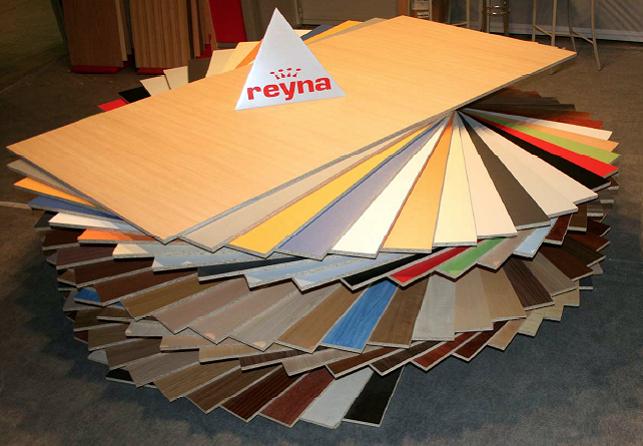 Fabricados REYNA estará una vez más en Maderalia con nuevos diseños en su línea de tableros con melamina