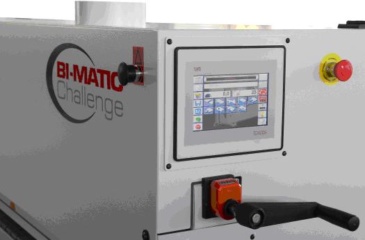 BI-MATIC reconocido fabricante de encoladoras de cantos, expone en FIMMA 2016 junto a su distribuidor para España LENTICANT