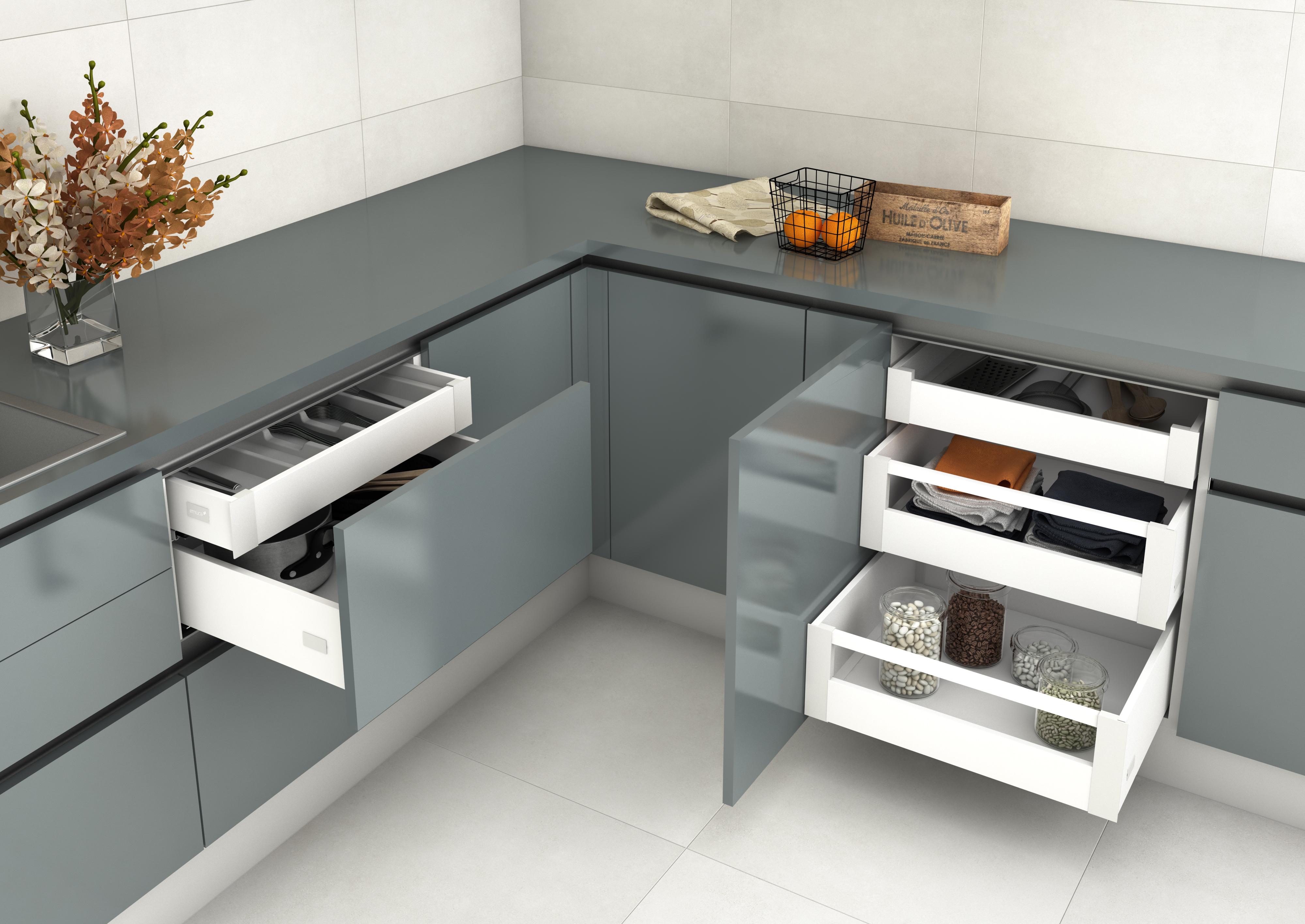 Emuca presenta sus ltimas novedades en maderalia for Ultimas novedades en cocinas