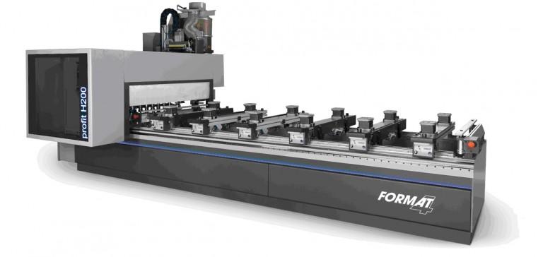 Nuevos CNC Profit H200 / H300 de Format 4
