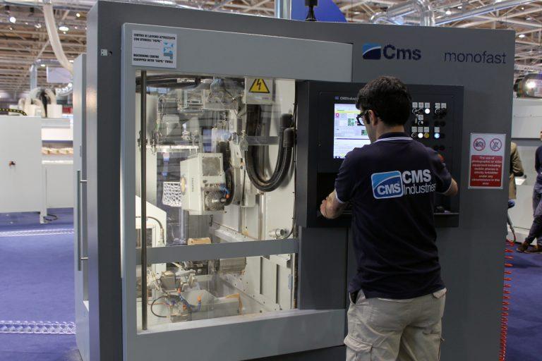 CMS-Balestrini incorpora sus máquinas a la gestión 4.0 de las empresas