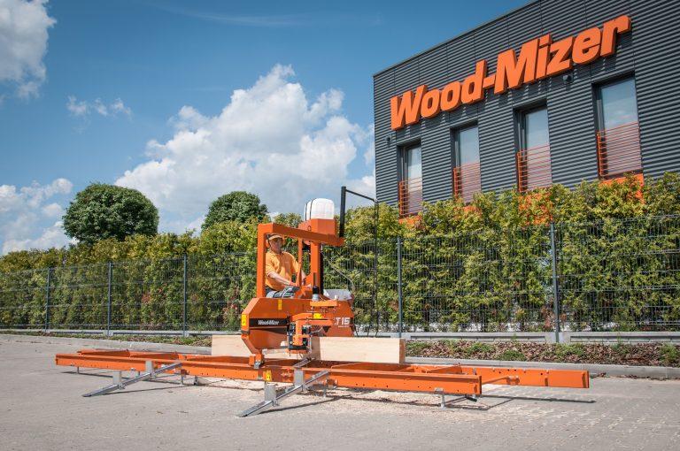 Novedades para aserraderos de Hersan NCR y Wood-Mizer
