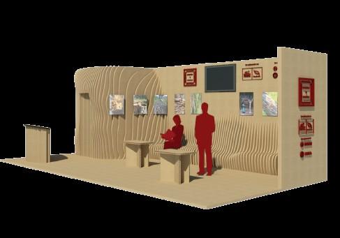 El equipo del IES San José gana el concurso para el diseño, construcción e instalación del stand de Profemadera en FIMMA – Maderalia
