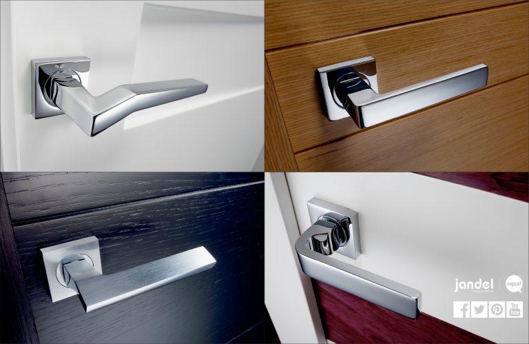 Jandel presenta su extenso catálogo de manillas y complementos para puertas de interior