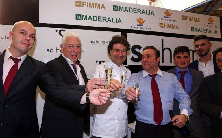 El 'Masterchef' Pepe Rodríguez vuelve a FIMMA- Maderalia de la mano de SC Herrajes