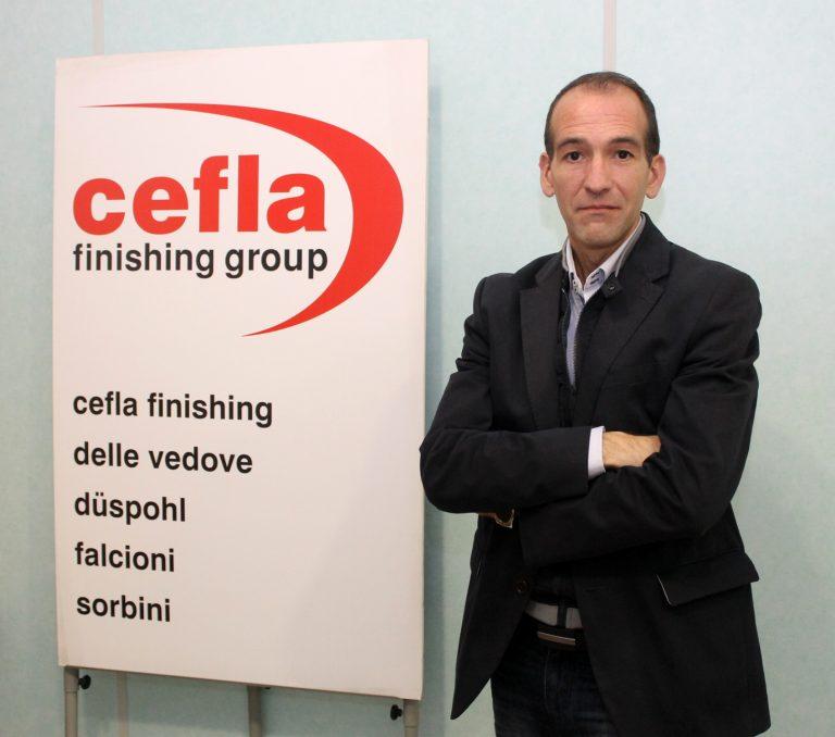 """Salvador Doménech, gerente de CEFLA FINISHING IBERICA:  """"Volvemos a hablar de trabajo, de proyectos, nuevos procesos, mejoras y producciones"""""""
