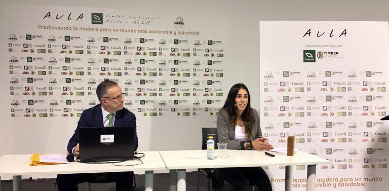 """María Sánchez Ontin, arquitecta, en Maderalia: """"Los mitos negativos de la madera se deben a un desconocimiento del material"""""""