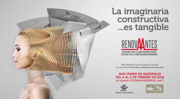 RENOVAANTES exhibirá en MADERALIA soluciones para la construcción eficiente