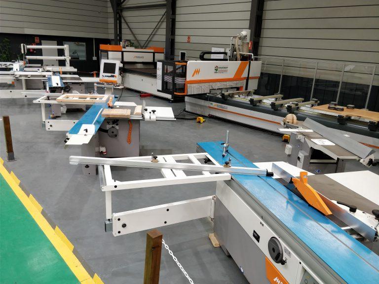 Todo a punto para una de las mayores exposiciones de maquinaria en España dela mano de Europea de Maquinaria y Casadei Busellato