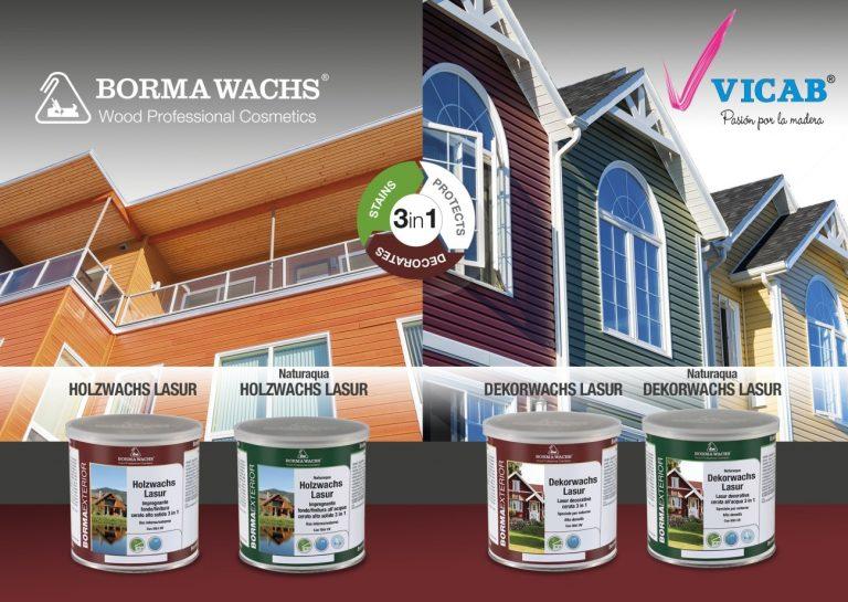 VICAB presenta la última gama de productos ecológicos y base agua de BORMA WACHS