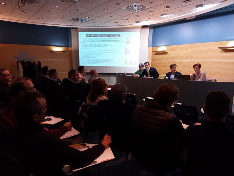 La nueva área de Carpintería de FIMMA – Maderalia 2020 cobra forma