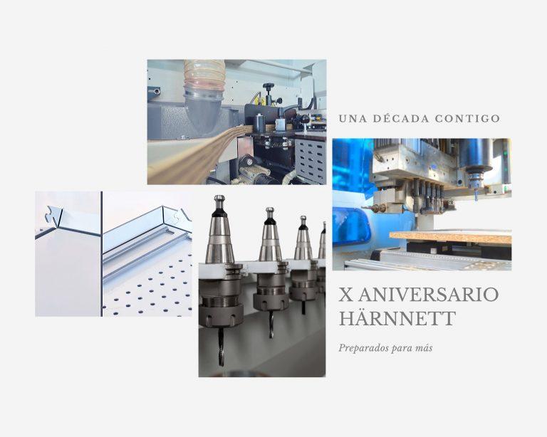 La firma HÄRNNETT celebra su décimo aniversario