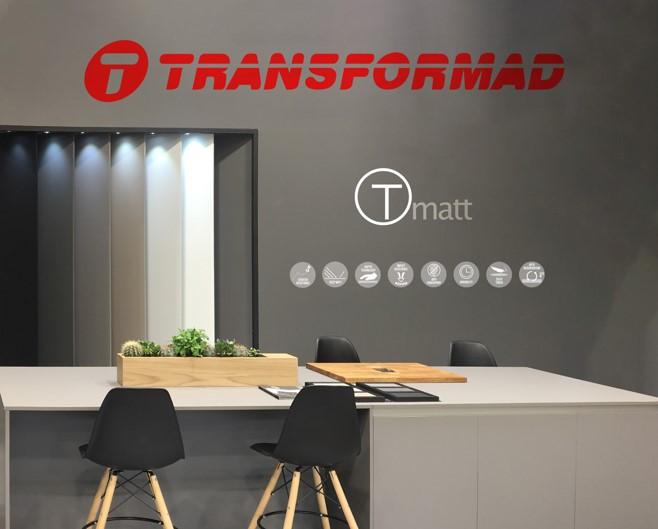 TRANSFORMAD presenta en Maderalia la nueva gama de colores de la colección TMATT