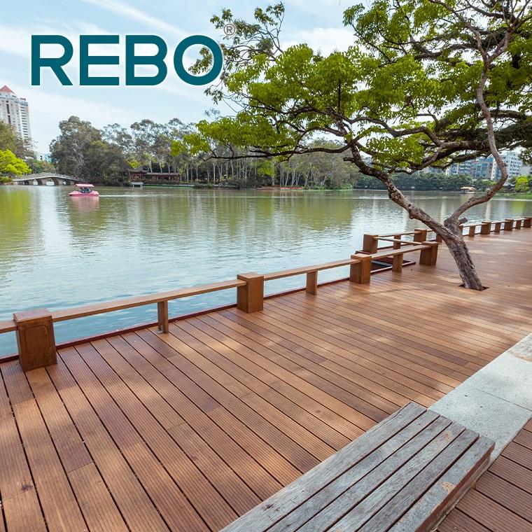 Molduras Alto Turia SL presentará en Maderalia su nuevo Deck de Bamboo REBO®