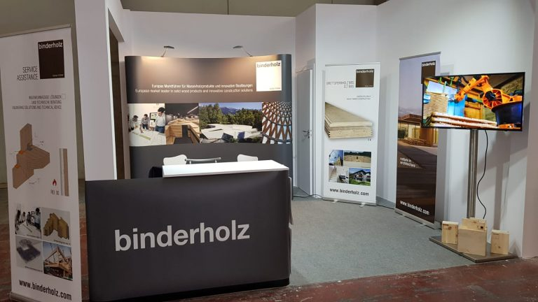 TIMBERFOUR, Agencia de Madera, representará a Binderholz en Maderalia