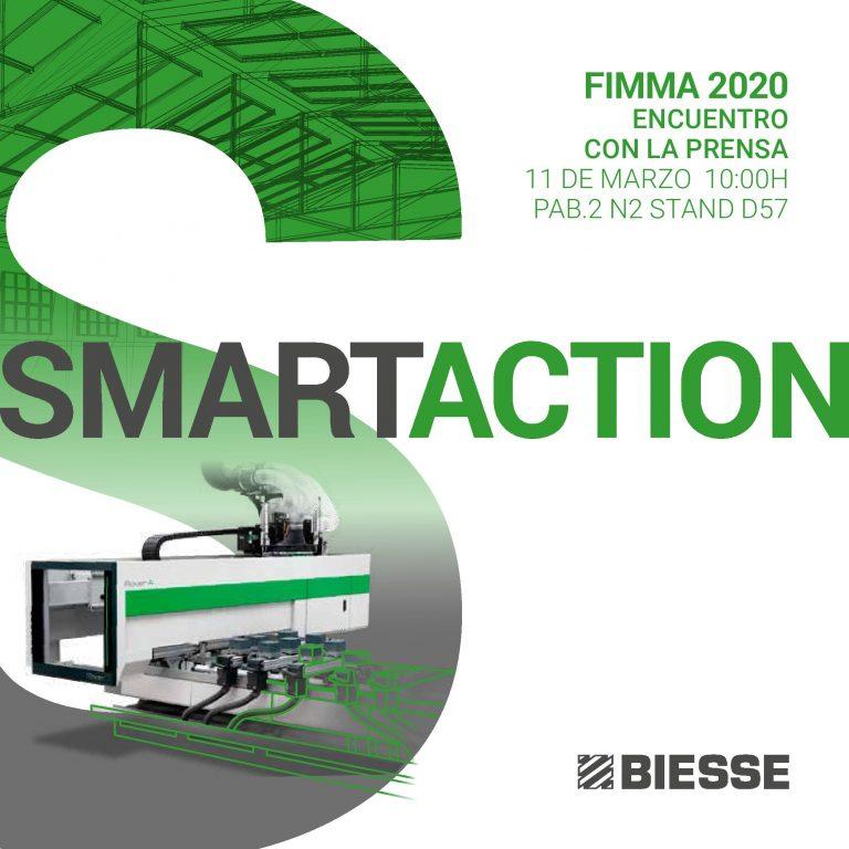 BIESSE presenta sus novedades a la prensa en FIMMA