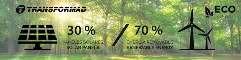 TRANSFORMAD confía en la energía verde y renovable en una apuesta clara por la sostenibilidad