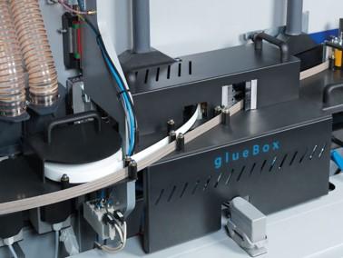 GlueBox, encolado de cantos de PUR sin calderín de cola para FORMAT4