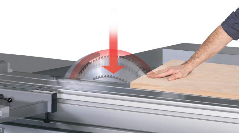 Mecanización exitosa de la madera y manos seguras con  PCS®, nuevo sistema de contacto preventivo de FORMAT4