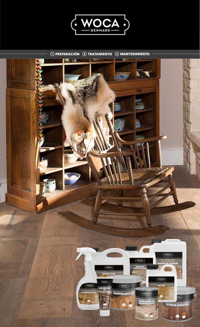 WOCA DENMARK presenta su gama de productos para el tratamiento de madera