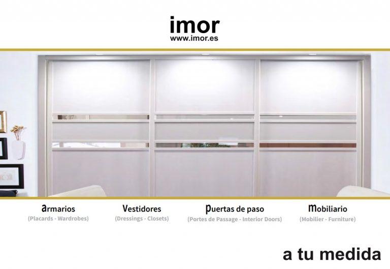 """IMOR – ARMARIOS presenta su nuevo """"Catálogo Comercial 2020"""""""