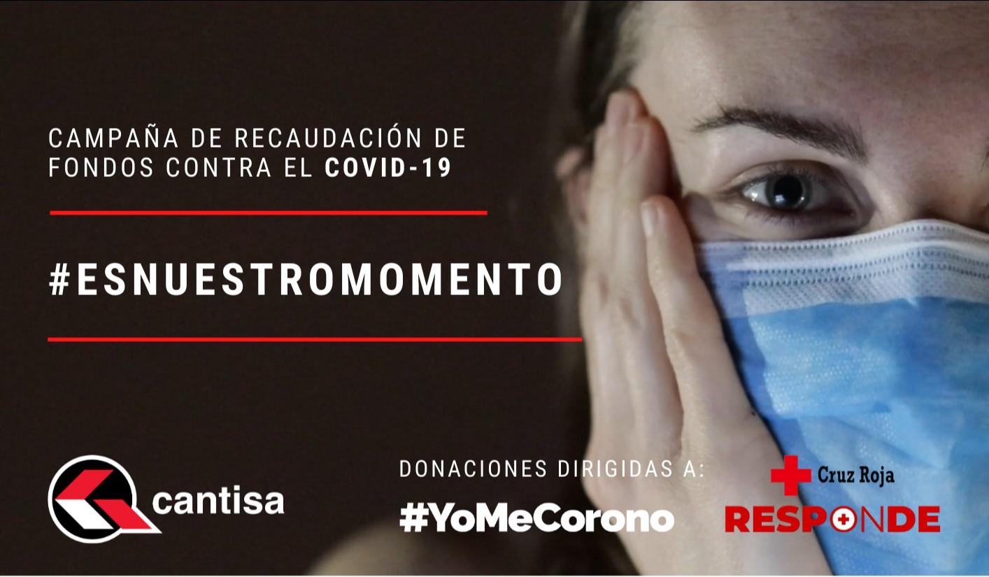 Cantisa pone en marcha una campaña de recaudación de fondos contra el COVID19