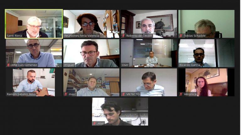 Reunión telemática del Comité Organizador de FIMMA 2020